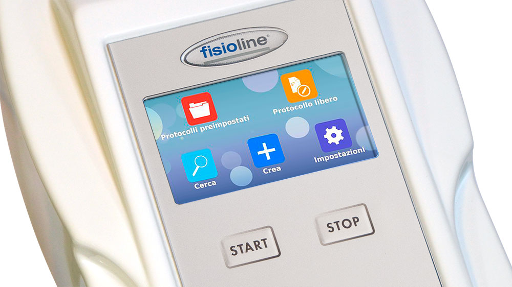 Fisiofield Middle display touch screen
