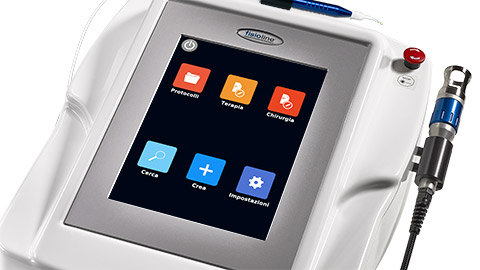 Lumix® Q Platform Veterinary display touch screen