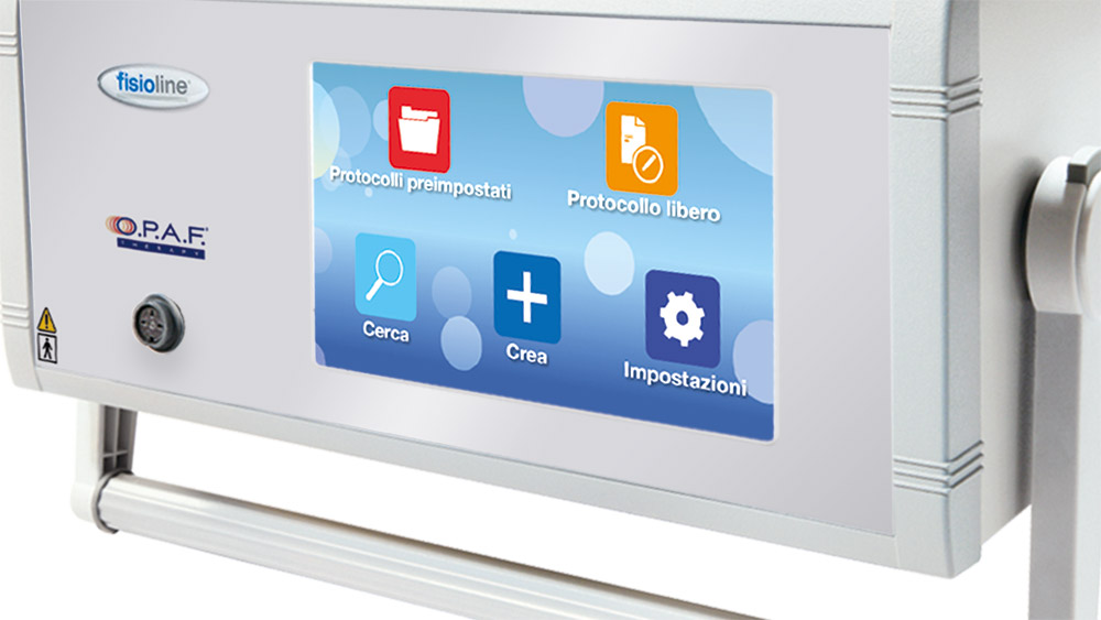 O.P.A.F.® THERAPY Veterinary display touch screen